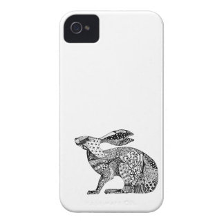 Crouching Hare iPhone 4 Covers