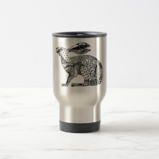 Crouching Hare Stainless Steel Travel Mug