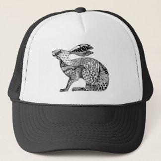 Crouching Hare Trucker Hat
