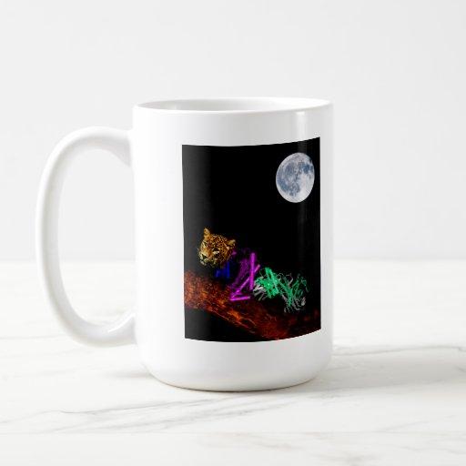 Crouching Molecule Coffee Mug