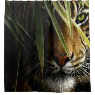 Crouching Tiger Shower Curtain