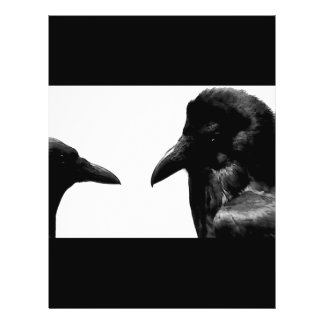 Crow and Raven 21.5 Cm X 28 Cm Flyer