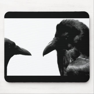 Crow and Raven Mouse Pad