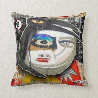 crow and the moon cushion