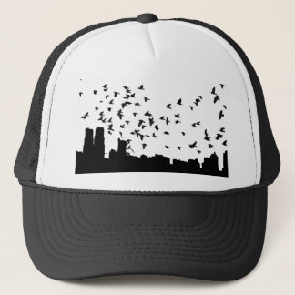 Crow apparel trucker hat