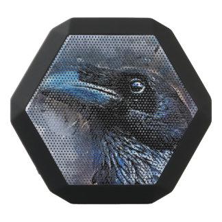 Crow art #crow #bird #animals black bluetooth speaker