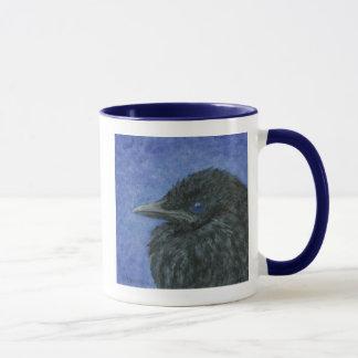 crow baby mug