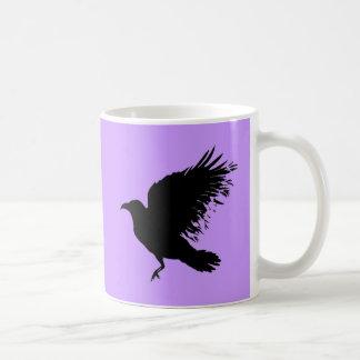 Crow - black coffee mugs
