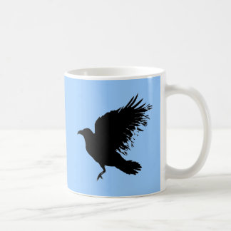 Crow - black mug