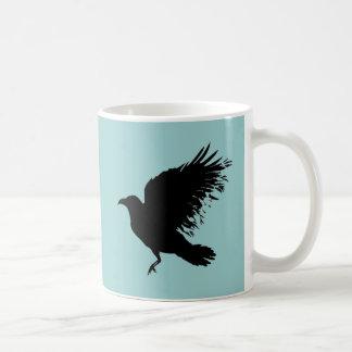 Crow - black mugs