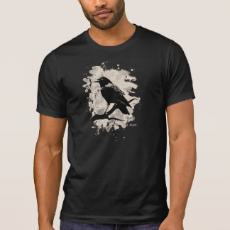 Crow bleached look tee shirts