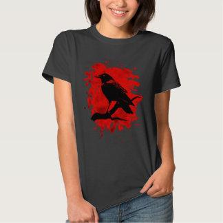 Crow bleached talk shirts
