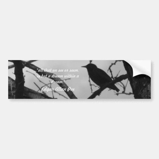 Crow Bumper Sticker