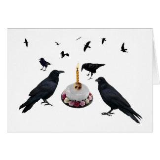 Crow Cake Card