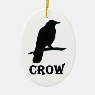 Crow Christmas Ornament