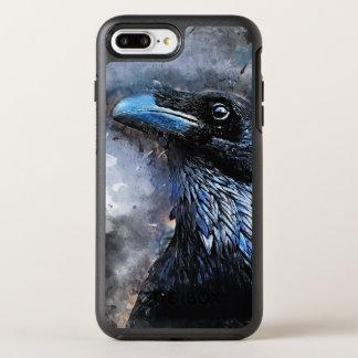 crow #crow OtterBox symmetry iPhone 8 plus/7 plus case