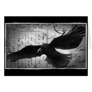 Crow deluxe card