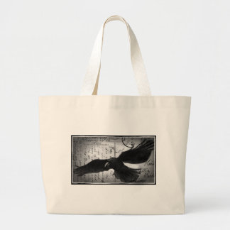 Crow deluxe large tote bag