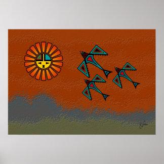 Crow Flight Poster