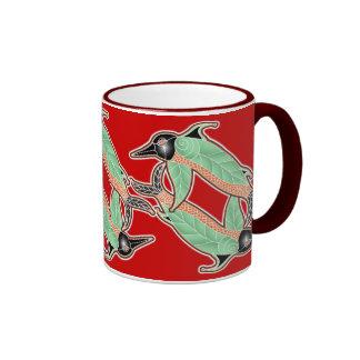 crow flight ringer mug
