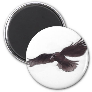 Crow Fridge Magnets