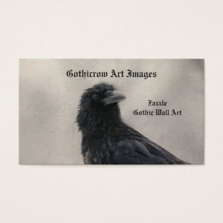 Crow Has Messy Hair Business Card