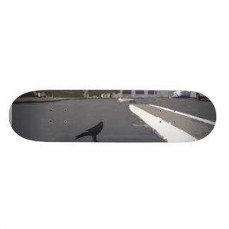 Crow In The Parking Lot Skateboard Decks