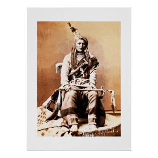 Crow Indian 1880 Poster
