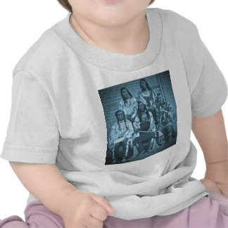 Crow Indian Chiefs 1879 T Shirts