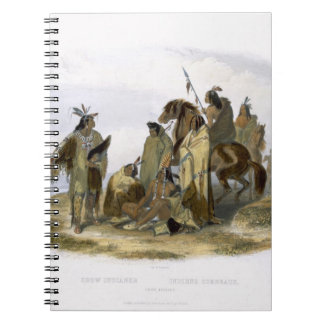 Crow Indians, plate 13 from volume 1 of `Travels i Notebooks
