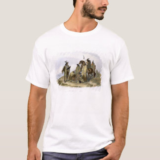Crow Indians, plate 13 from volume 1 of `Travels i T-Shirt