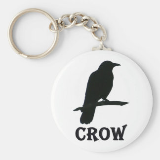 Crow Key Ring