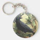 Crow Keychain