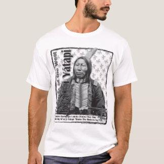 Crow King Hunkpapa Lakota Chief T-Shirt