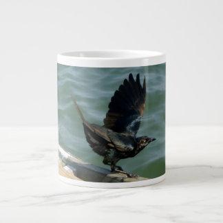 Crow Large Coffee Mug