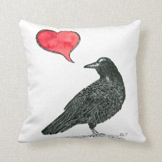 Crow Love Cushion