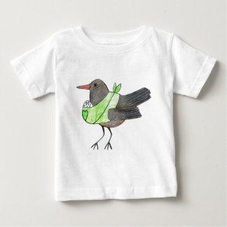 Crow mom by Kaisa Hakanpää Baby T-Shirt