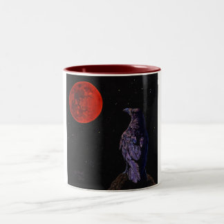 Crow Moon Two-Tone Mug