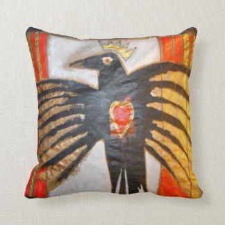 crow nation throw cushion