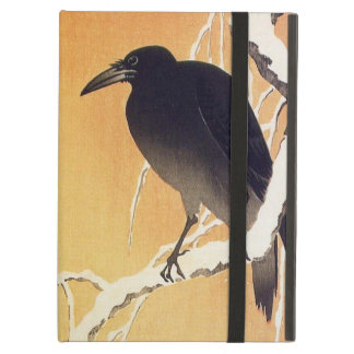 Crow on a Branch by Ohara Koson Vintage iPad Air Cover