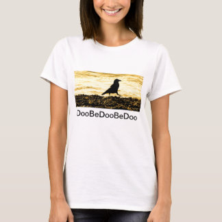 Crow on the Beach T-Shirt