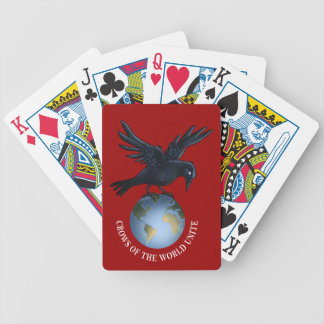 Crow on Top of the World - Playing Cards