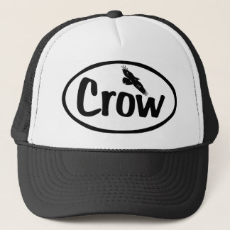 Crow Oval Trucker Hat