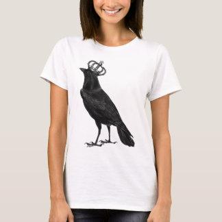 CROW Raven Crown Black Bird Birds T-Shirt
