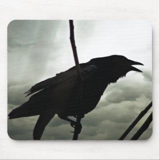 Crow/Raven Photo Mouse Mat