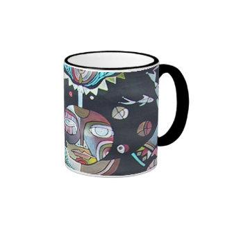 CROW SERIES RINGER COFFEE MUG