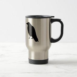 Crow Silhouette Travel Mug