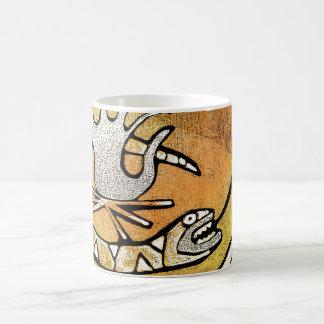 crow snake shaman mugs