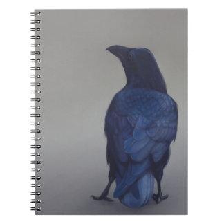 Crow Spiral Notebook