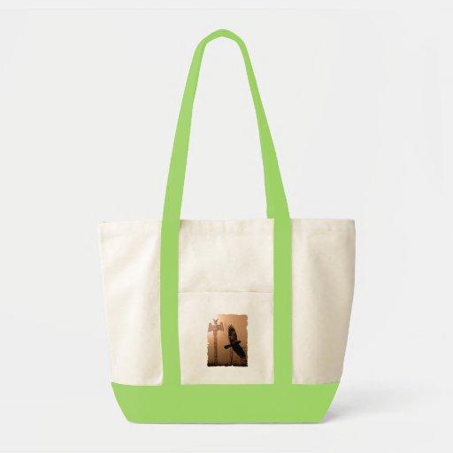 CROW SPIRIT Collection Tote Bag